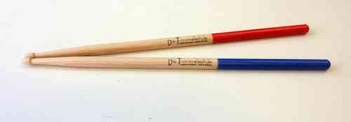 Drumsticks 5A red/blue